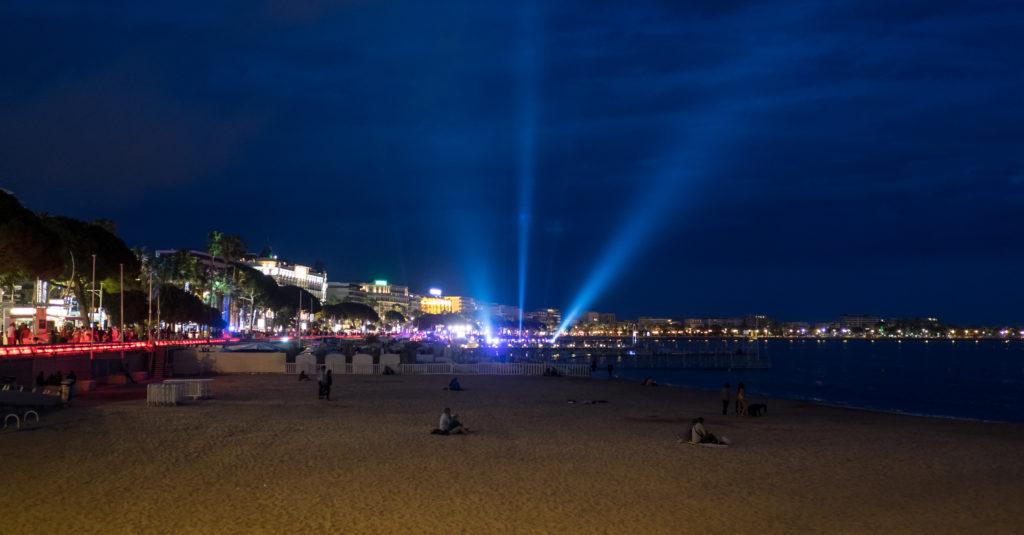 Beach nightlife